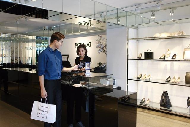 Nhiều khách hàng đã tin tưởng lựa chọn QR Pay trong hoạt động mua sắm, tiêu dùng hàng ngày