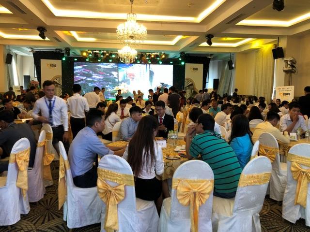 Buổi lễ giới thiệu dự án đã thu hút rất đông khách đến tham dự