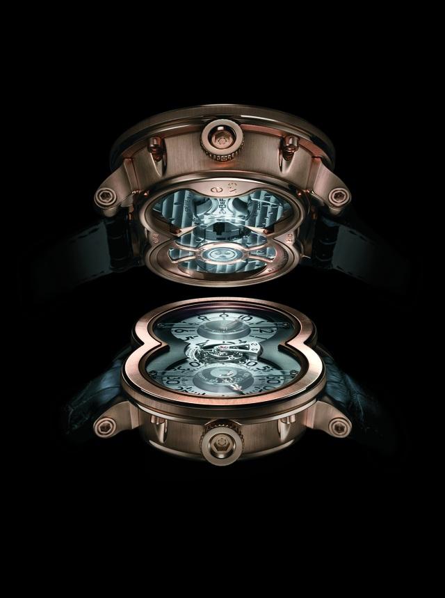 """Phiên bản MB&F HM1 – """"cỗ máy cơ khí"""" thời gian đến từ thương hiệu đồng hồ độc lập MB&F."""