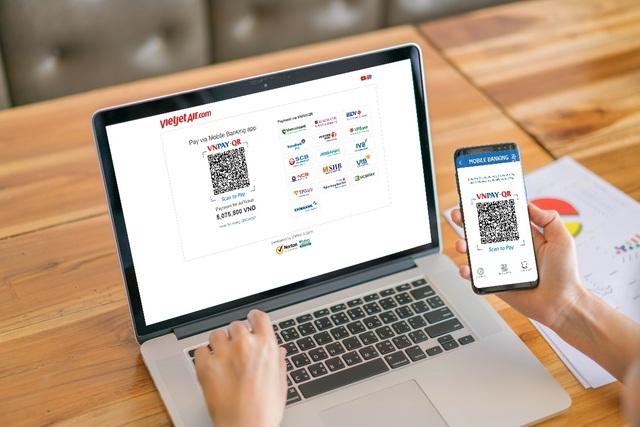 Việc bổ sung thêm phương thức thanh toán mới mang lại nhiều tiện lợi hơn cho khách hàng của Vietjet Air bắt đầu từ khâu đặt vé
