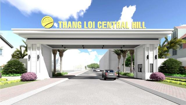 Phối cảnh cổng dự án Thắng Lợi Central Hill