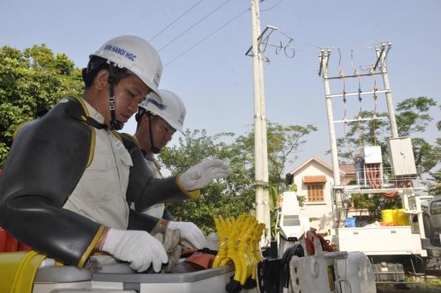 Việc đấu nối trạm biến áp Kim Quan 7 được thực hiện trực tiếp trên đường dây 22kV đang mang điện
