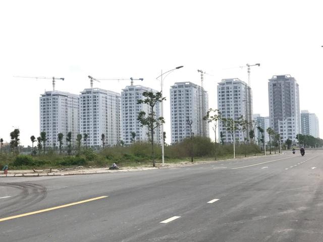 Các tổ hợp chung cư tại khu đô thị Thanh Hà chuẩn bị bàn giao nhà