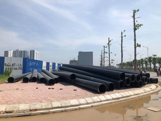 Hình ảnh tập kết đường ống dẫn nước Dismy D400 từ tháng 8/2018