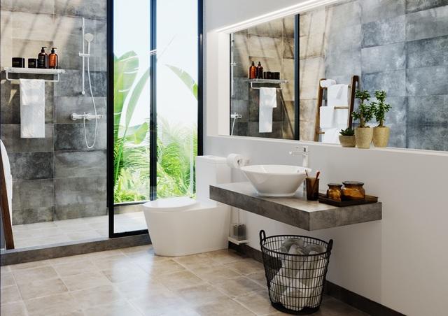 Từ lavabo hình tròn, bồn cầu hình bầu dục đến bộ trộn hình trụ, những đường cong thiết kế của bộ sưu tập Celina (Häfele) mang đến cho không gian phòng tắm nhà bạn sự gợi cảm, cuốn hút.