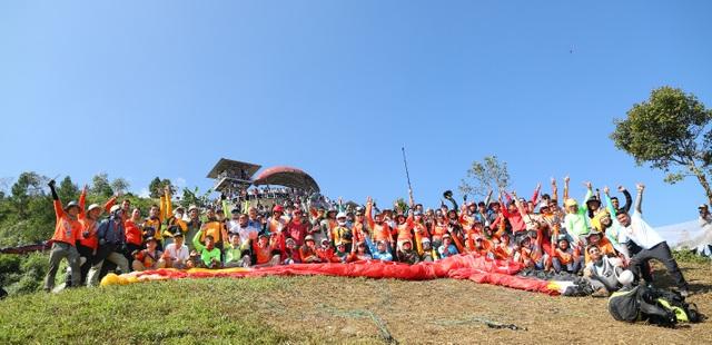 Sự kiện Bay trên mùa vàng được tổ chức hàng năm vào mùa lúa chín tại Mù Cang Chải.