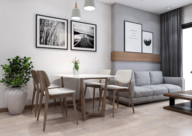 Phối cảnh 3D tiện nghi căn hộ FLC Green Apartment