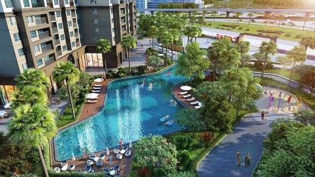 Dự án D'. Capitale đang được thực hiện theo đúng hợp đồng mua bán căn hộ - 2