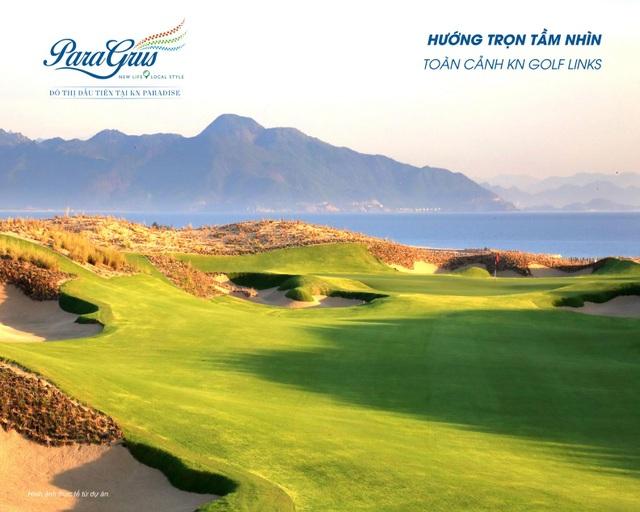 Para Grus tọa lạc ngay cạnh KN Golf Links – một trong những sân golf đẹp nhất Châu Á khai trương ngày 27/10