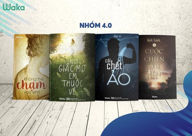 Nhóm 4.0 đã giới thiệu đến độc giả 4 tác phẩm và thu hút được hàng trăm nghìn độc giả theo dõi