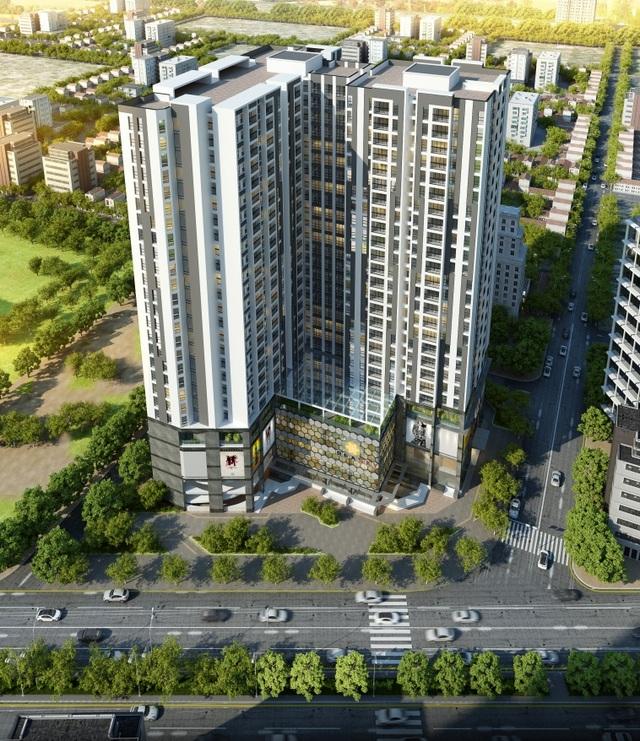 Bea Sky sở hữu vị trí đắc địa trên mặt đường Đại lộ Chu Văn An.
