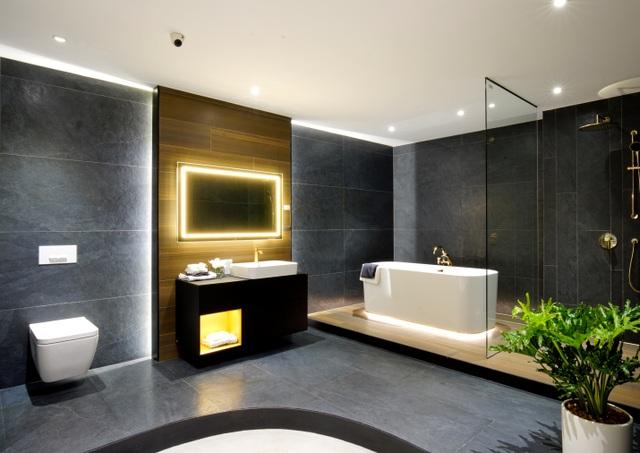 Thiết kế cá tính và tinh tế của không gian phòng tắm Finion ( Villeroy & Boch)