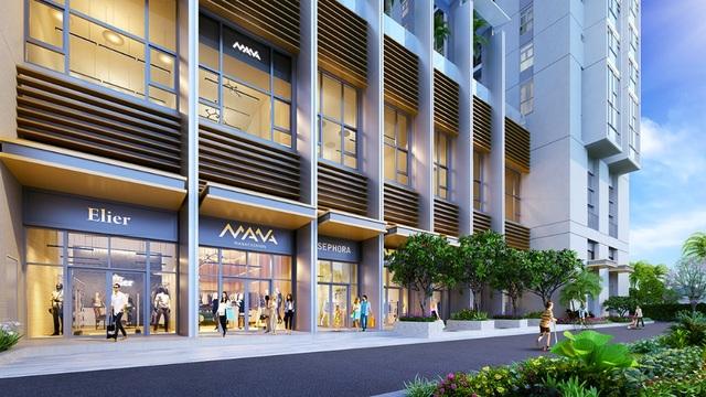 Dự án nổi bật tại khu vực bởi sự tiên phong trong mô hình nhà ở mới