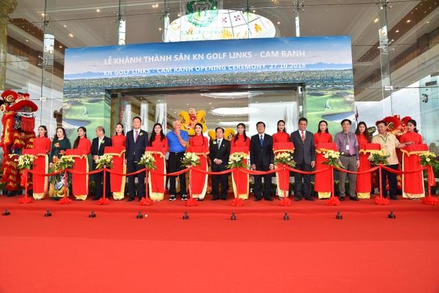 Lễ Khánh thành sân golf KN Golf Links tại Cam Ranh