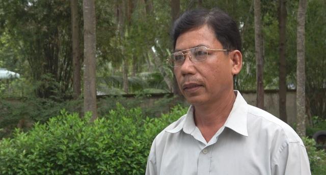 Ông Trương Công Việt, huyện Gò Công Tây, tỉnh Tiền Giang