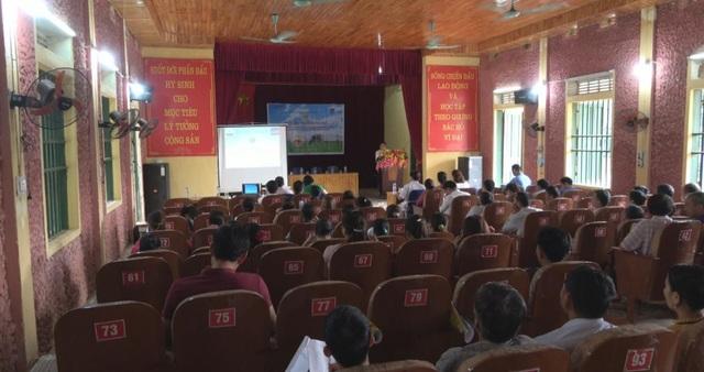 Sự kiện tín dụng được dự án LCAPS tổ chức tại Lào Cai