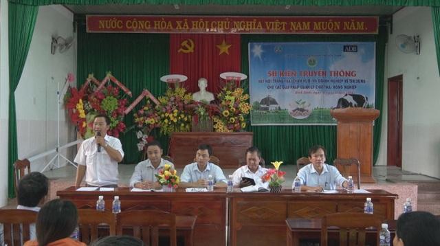 Sự kiện tín dụng được dự án LCAPS tổ chức tại Bình Định