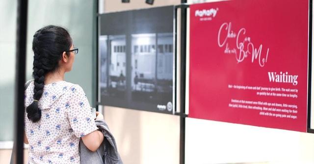 """Rưng rưng với triển lãm ảnh """"Sinh nở"""" ấn tượng tại TP. Hồ Chí Minh - 2"""