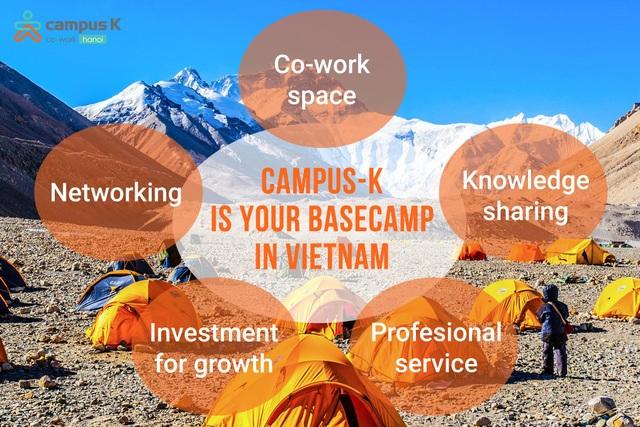 """Campus K - """"Căn cứ địa"""" cho các Startups và  doanh nghiệp SMEs - 3"""