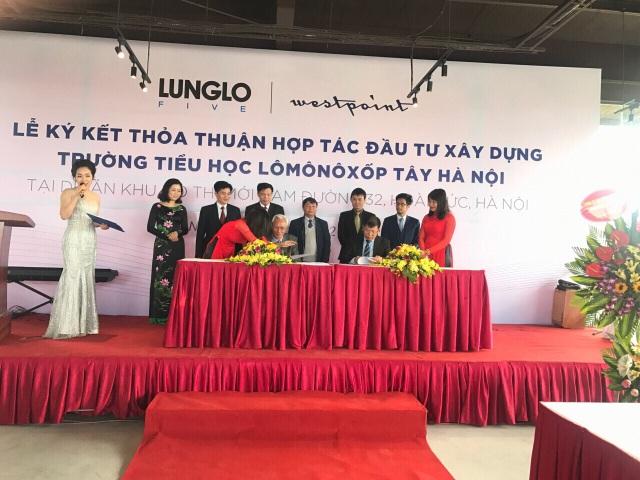 Trường Lomonoxop chuẩn quốc tế tạo điều kiện phát triển toàn diện cho cư dân