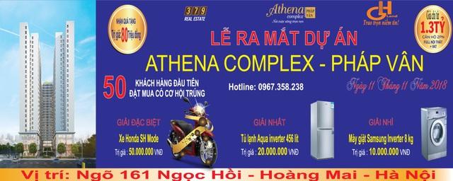 """""""Cháy hàng"""" Athena Complex Pháp Vân - 4"""