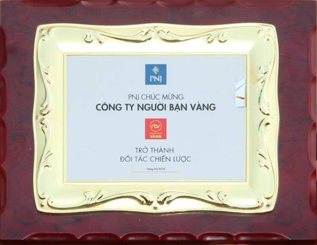 PNJ chứng nhận Người Bạn Vàng là đối tác chiến lược