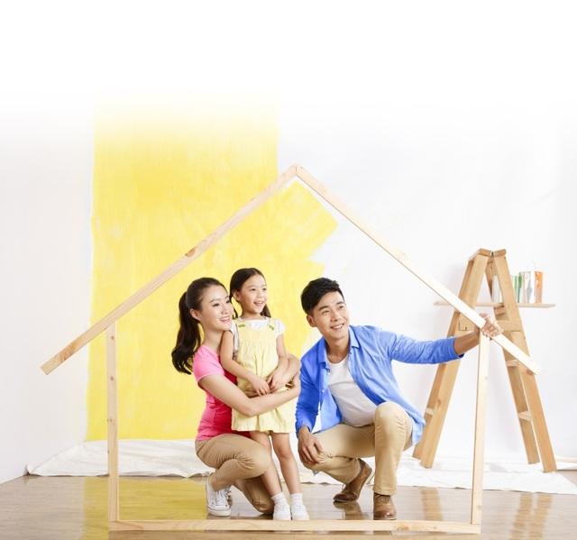 """""""Gia đình là nhà"""" - sản phẩm bảo hiểm giúp mỗi gia đình nâng cao chất lượng cuộc sống."""