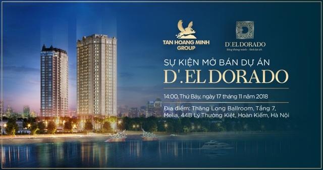 Ngập tràn quà tặng giá trị lên đến 1,2 tỷ đồng tại sự kiện mở bán dự án D'. El Dorado - 2