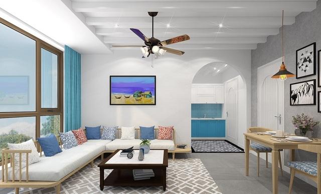 Các căn hộ được trang bị nội thất hiện đại, cao cấp