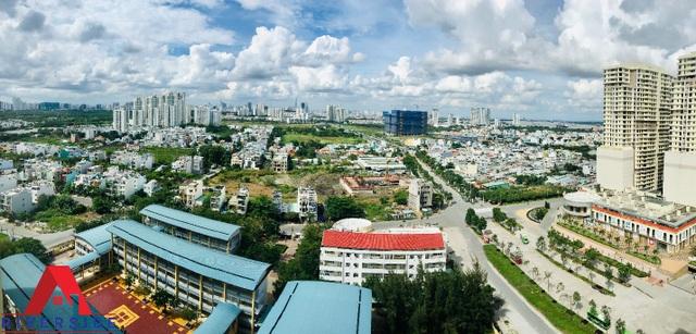 Khu căn hộ A1 Riverside, block B4 với hướng view về Phú Mỹ Hưng tuyệt đẹp nhưng mức giá chỉ từ 1,3 tỷ/căn nhận nhà ở ngay