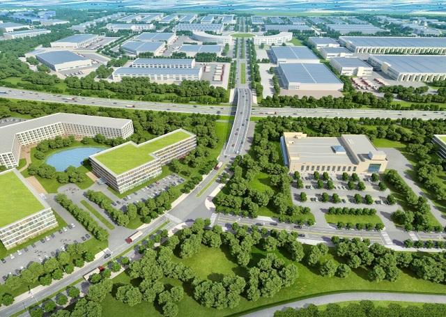 HANSSIP sẽ là tổ hợp khổng lồ bao gồm: phức hợp công nghiệp, đô thị - dịch vụ, logistic, trung tâm thương mại, ngân hàng, y tế, trường học...