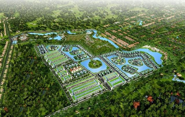 Phối cảnh dự án Pearl Riverside – Đô thị xanh tiêu chuẩn resort