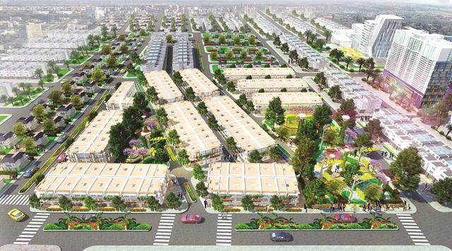 Phối cảnh tổng thể dự án Eco Town Long Thành.