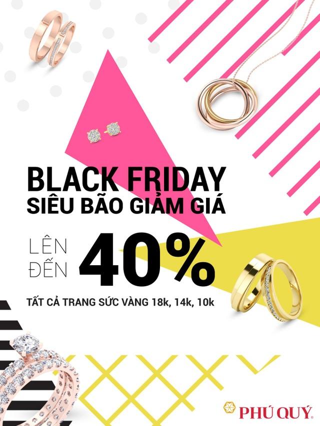 Trong ba ngày 23,24, 25/11, Phú Quý sẽ giảm giá mạnh cho trang sức vàng 18k,14k,10k.