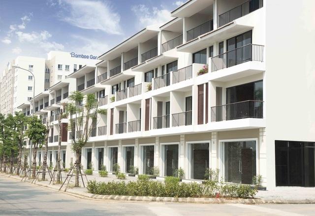 Shophouse Sunny Garden City có thiết kế hiện đại, diện tích và công năng sử dụng hợp lý
