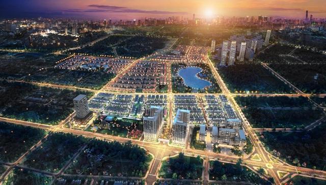 Khu đô thị Dương Nội của Tập đoàn Nam Cường dự kiến sẽ tác động lớn đến tổng nguồn cung phân khúc đất nền thị trường cuối năm 2018