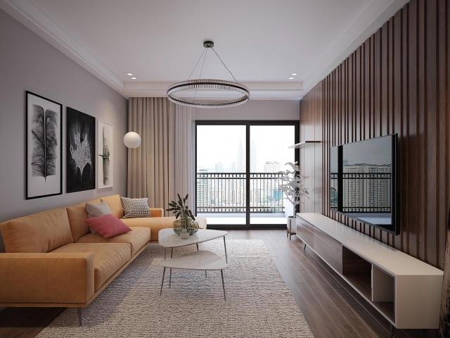 Các căn hộ ở Sky Central được thiết kế và xây dựng theo tiêu chuẩn quốc tế, tối ưu gió và ánh sáng.