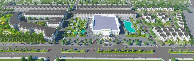 Phối cảnh tổng thể dự án khu đô thị Việt Mỹ Villas