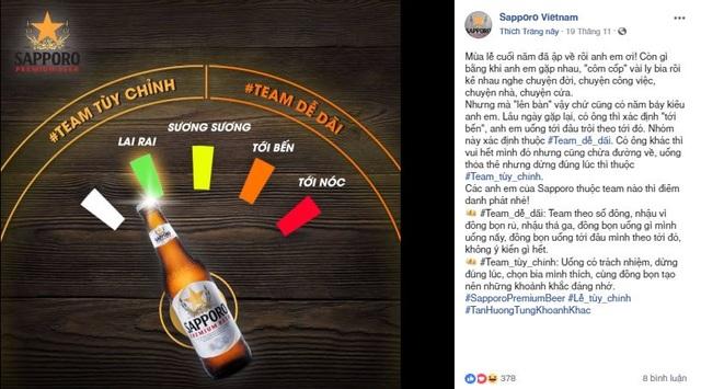 Sapporo – Bia đỉnh cho văn hóa uống bia tùy chỉnh - 1