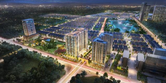 Dự án Anland Comple và Anland Premium trong phối cảnh tổng thể của Khu đô thị Dương Nội