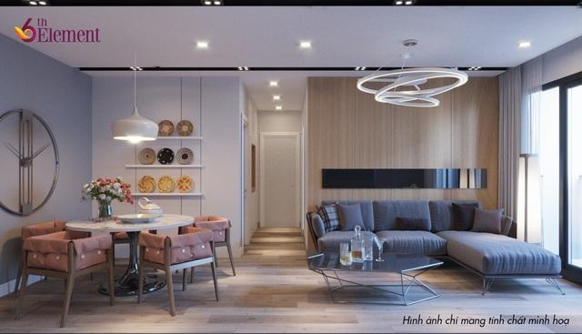 Toàn bộ thiết kế thông minh và tối ưu với ánh sáng tràn ngập, diện tích mảng xanh lớn.