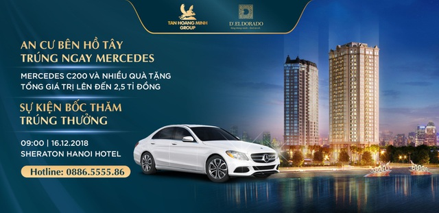 Tân Hoàng Minh dành 2,5 tỷ tri ân khách hàng mua căn hộ D'. El Dorado trong sự kiện cuối năm - 1
