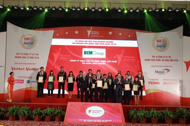 BIM Group đạt thứ hạng cao trong Top doanh nghiệp lợi nhuận tốt nhất Việt Nam năm 2018 - 1