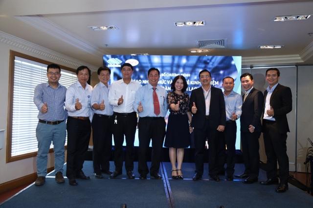 Các đại biểu tham dự lễ công bố khởi động chương trình cùng chung quyết tâm hướng đến hoạt động sản xuất không tai nạn lao động