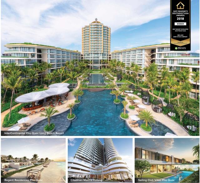 BIM Land được vinh danh nhà phát triển bất động sản nghỉ dưỡng tốt nhất Đông Nam Á 2018 - 2