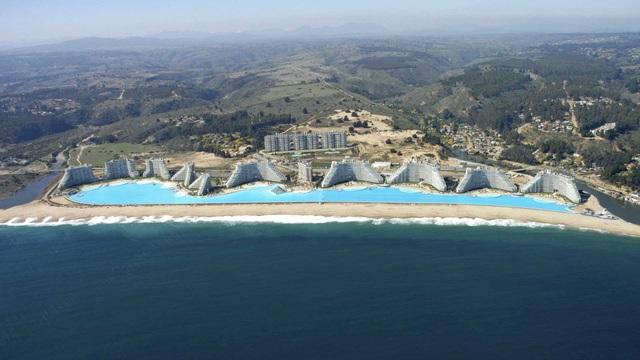 Biển hồ San Alfonso del Mar tại Chile là biển hồ nhân tạo lớn nhất thế giới