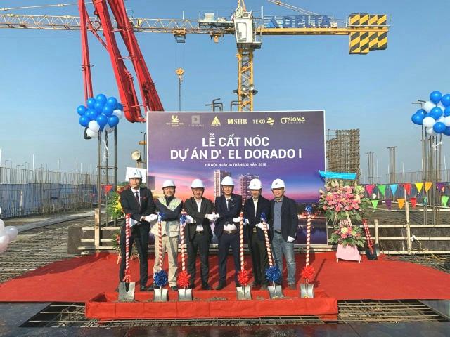 Tân Hoàng Minh chính thức cất nóc dự án D'. El Dorado I - 2