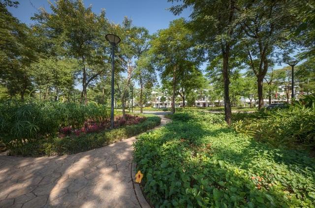 Không gian xanh ấn tượng tại Gamuda Gardens