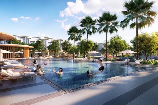 Hồ bợi nội khu tại dự án Phát Đạt Bàu Cả