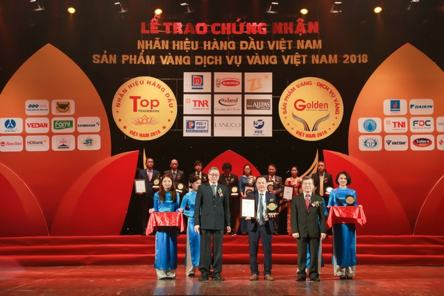 CTCP Landco đoạt giải TOP 20 Sản phẩm vàng, Dịch vụ vàng Việt Nam 2018 - Ảnh 2.